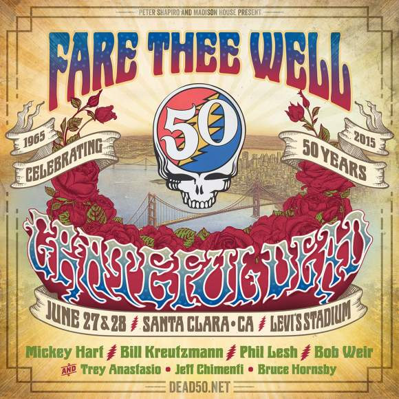 Grateful Dead - Fare Thee Well 2015