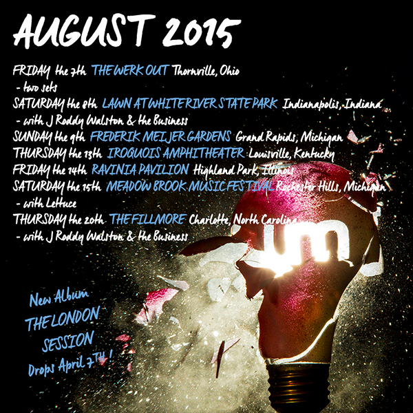 Umphrey's McGee - August 2015 Tour