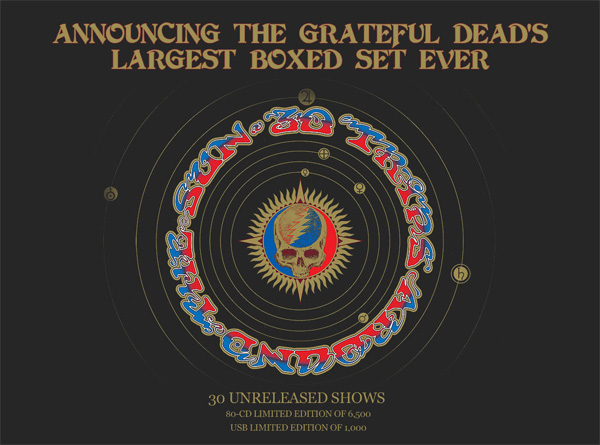 Grateful Dead - Largest Box Set 2015