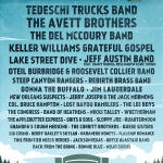 Magnolia Fest 2015 featuring Tedeschi Trucks Band, Jeff Austin Band, Del McCoury Band & More