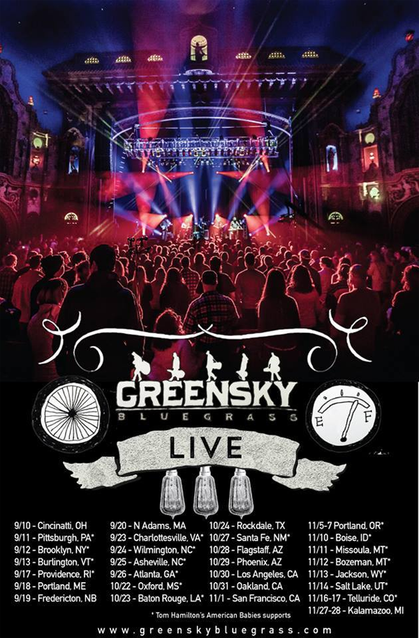Greensky Bluegrass - Fall Tour 2015