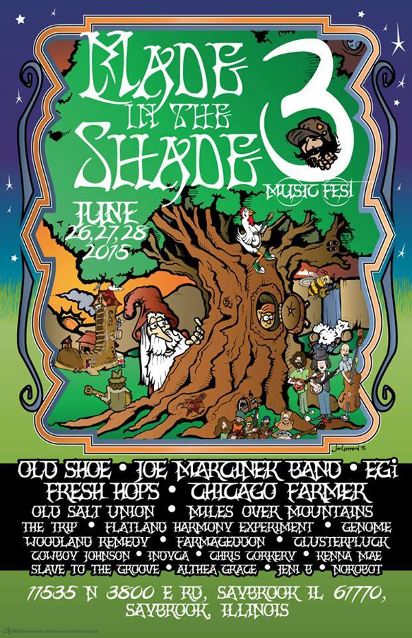 Made In The Shade 2015