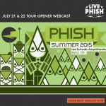 Phish Summer Tour 2015 Bend, OR Webcast
