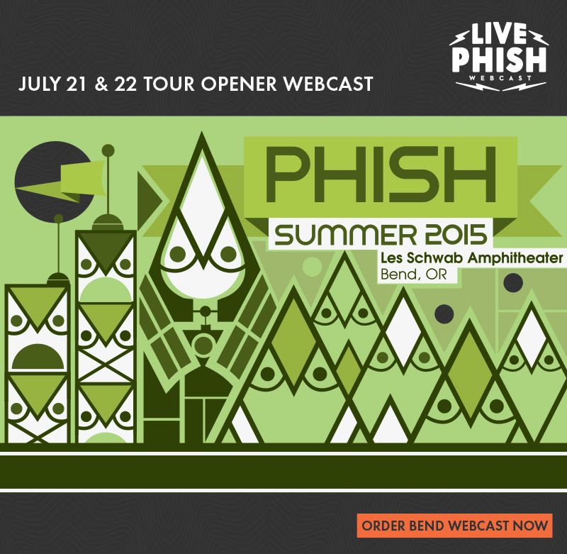 Phish - Summer Tour 2015 Webcast
