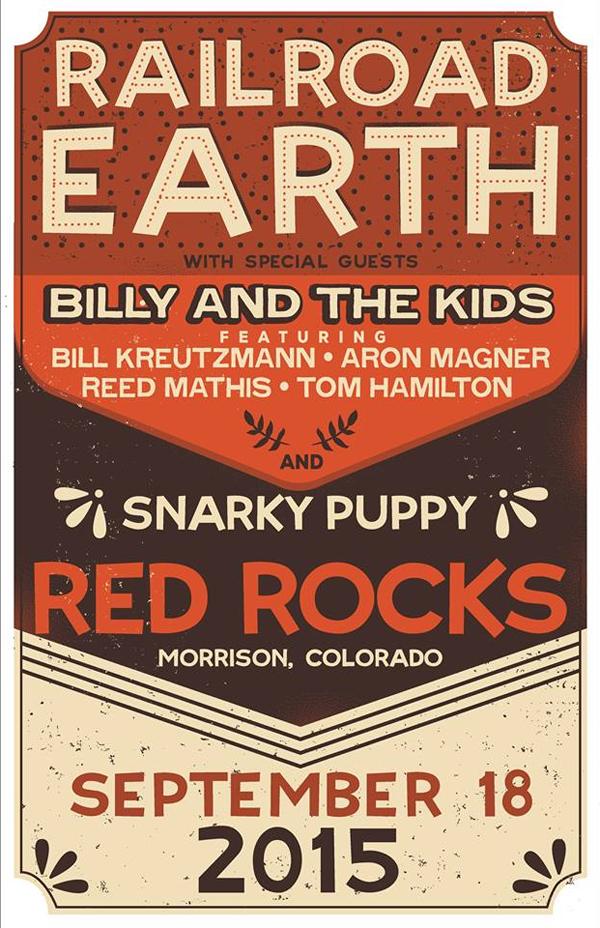 Railroad Earth - Red Rocks 2015
