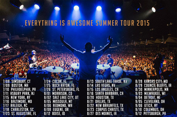 Slightly Stoopid - Everything Is Awesome Tour 2015