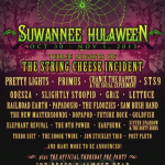 Suwannee Hulaween 2015 with Three Nights of String Cheese Incident, Pretty Lights, Primus & More