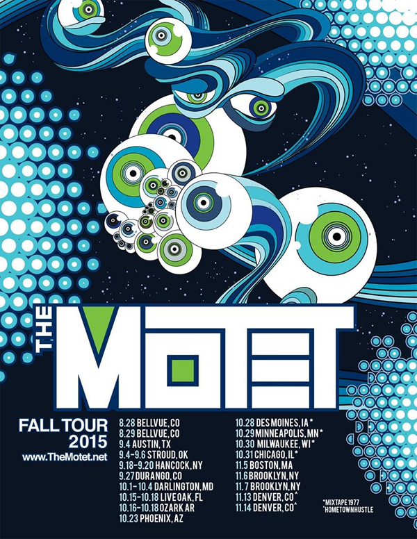 The Motet - Fall Tour 2015