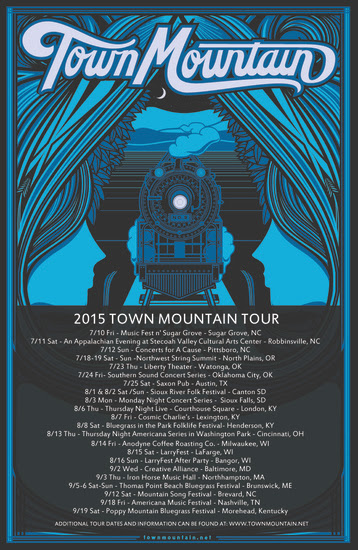 Town Mountain - 2015 Tour