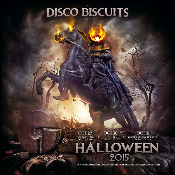 Disco Biscuits - Halloween 2015