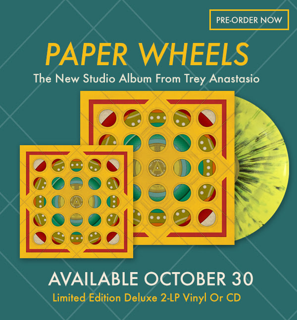 Trey Anastasio - Paper Wheels