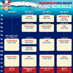 Dominican Holidaze 2015 Schedule Released [12.3-6.15]