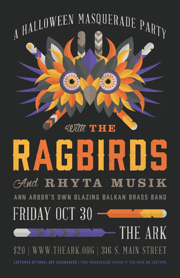 The Ragbirds - Halloween 2015