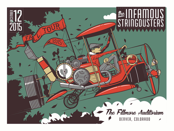 Infamous Stringdusters - Live at the Fillmore Auditorium 2016
