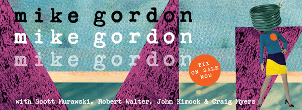 Mike Gordon - Winter Tour 2016