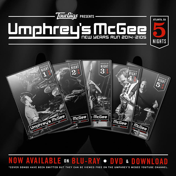 Umphrey's McGee - NYE Run 2014 DVD