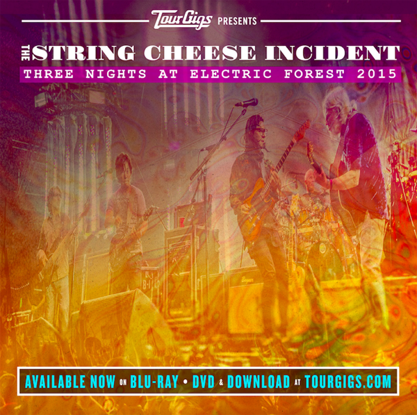String Cheese Incident - Electric Forest 2015