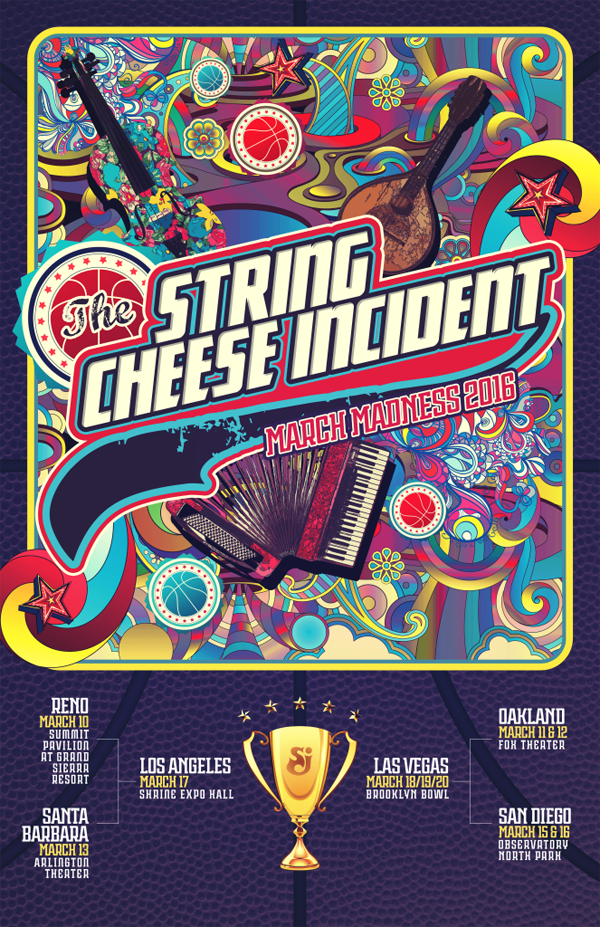 String Cheese Incident - March Madness 2016