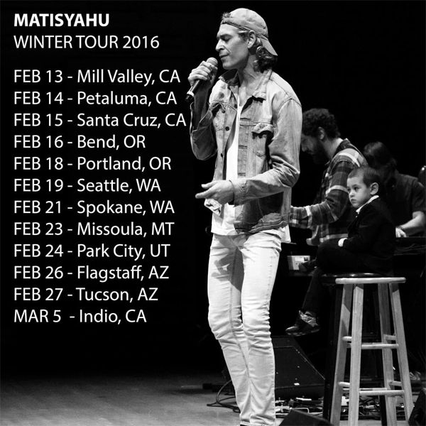 Matisyahu - Winter Tour 2016