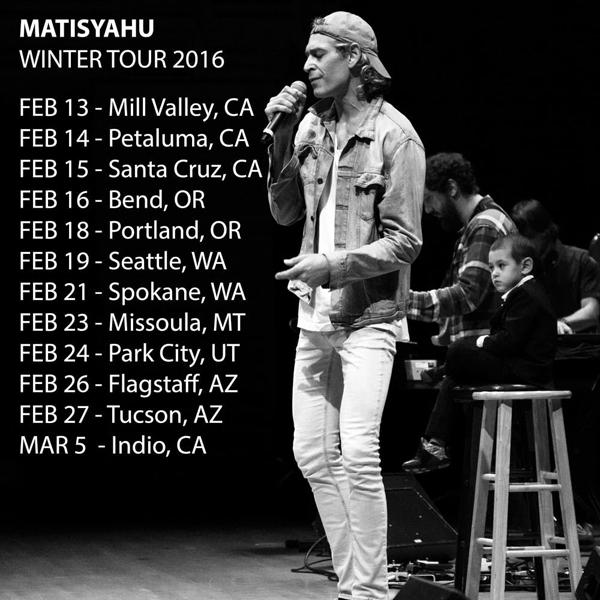Matisyahu - Winter Tour 2016