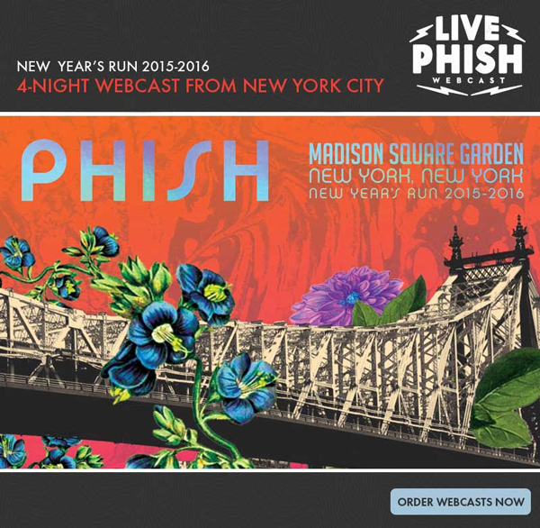 Phish - NYE Webcast 2016