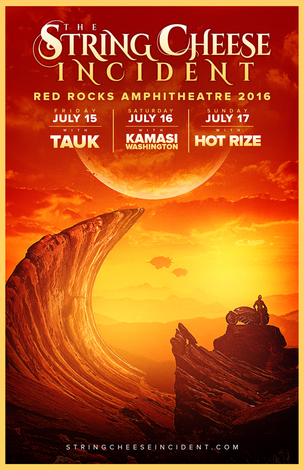 String Cheese Incident - Red Rocks 2016
