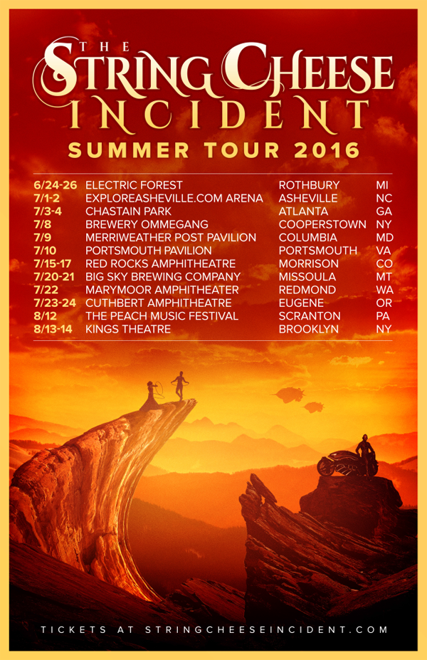 String Cheese Incident - Summer Tour 2016