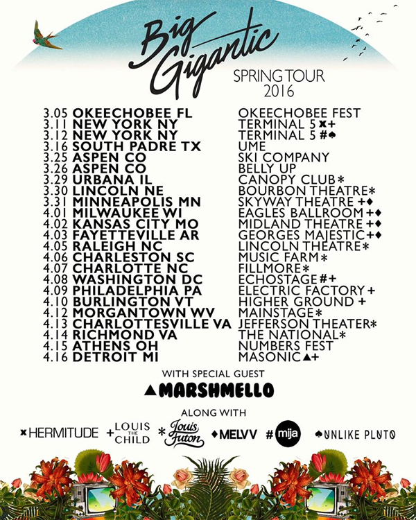 Big Gigantic - Spring Tour 2016