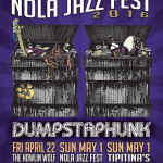 Dumpstaphunk in NOLA 2016 at Jazz Fest, Howlin Wolf and Tipitina's