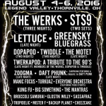 The Werk Out 2016 with The Werks, STS9, Lettuce & More