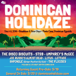 Dominican Holidaze 2016 with Umphrey's McGee, The Disco Biscuits, STS9 & More