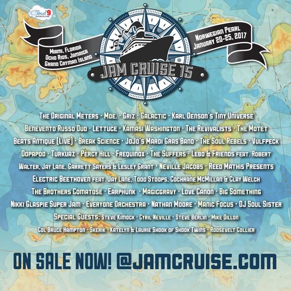 Jam Cruise 2017