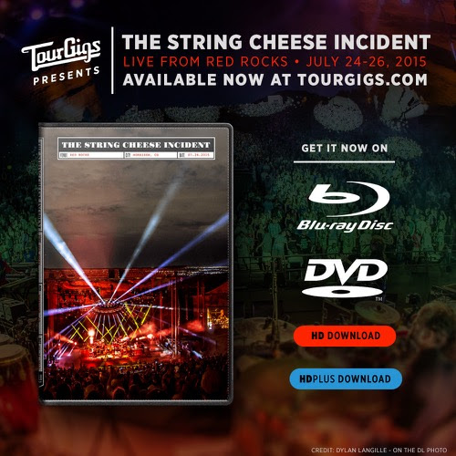 String Cheese Incident - Live at Red Rocks 2015