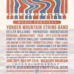 Highberry 2016 Announce Yonder Mountain String Band, Keller Williams, Papadosio & More