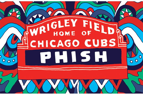 Phish - Wrigley Field 2016