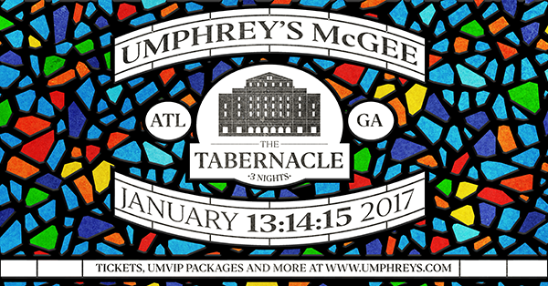 Umphrey's McGee - The Tabernacle 2016