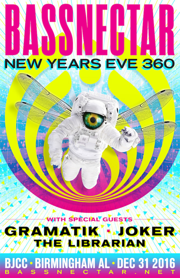 Bassnectar New Years Eve 2014