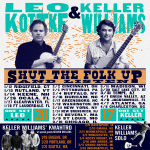 "Keller Williams Winter Tour 2017 ""Shut the Folk Up and Listen"""