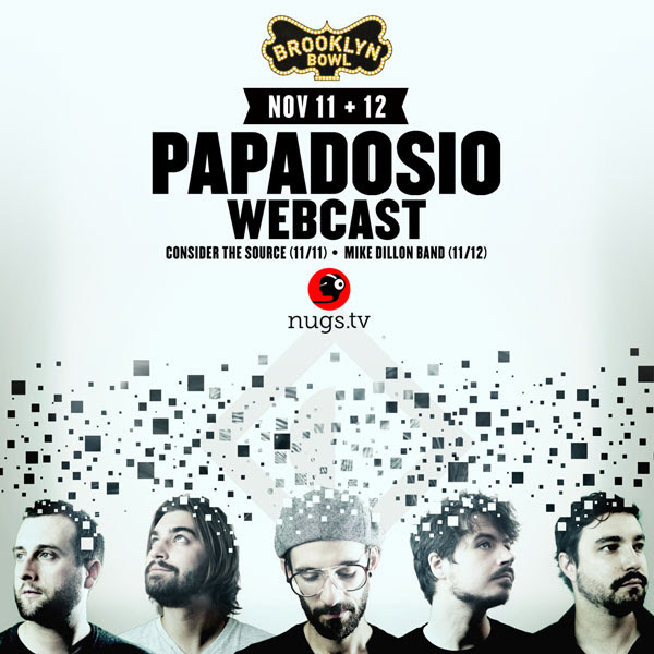 Papadosio - Live Webcast Nov 2016