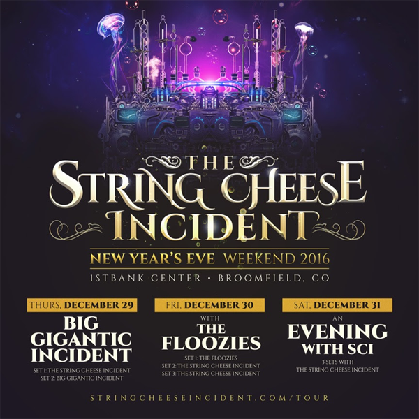 String Cheese Incident - NYE 2016