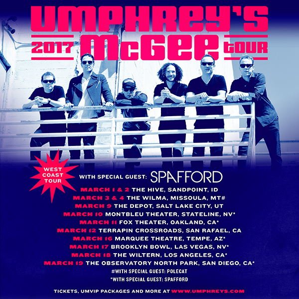 Umphrey's McGee - West Coast 2017