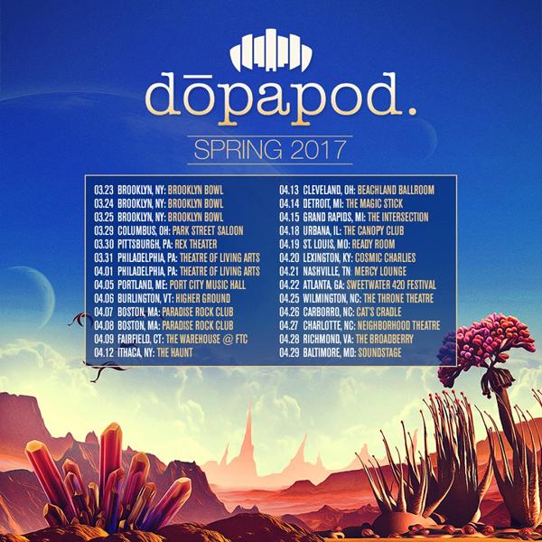 Dopapod - Spring Tour 2017