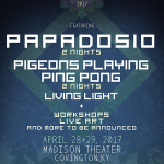 Resonance 2017 Announce Papadosio, Pigeons Playing Ping Pong & More