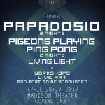 Resonance 2017 Announce Papadosio, Pigeons Playing Ping Pong & More