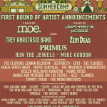 Summer Camp 2017 First Round of Artists