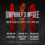 Umphrey's McGee Announce Red Rocks 2017