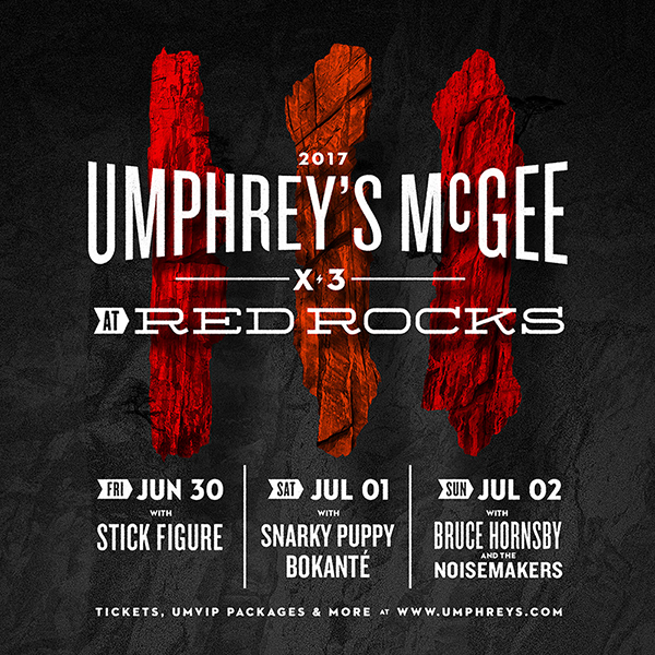 Umphrey's McGee - Red Rocks 2017