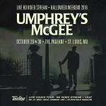 Umphrey's McGee Live at The Pageant Halloween 2016